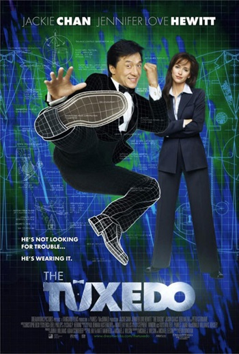 Free Download The Tuxedo 2002 Dual Audio Hindi   300mb