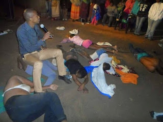 pastor orders female congregants to strip naked