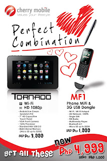 Cherry Mobile Perfect Combination Promo