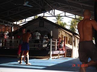 лагерь тайского бокса на самуи