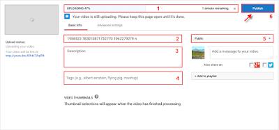 Cara Mudah Upload Video Youtube Terbaru Malalui PC