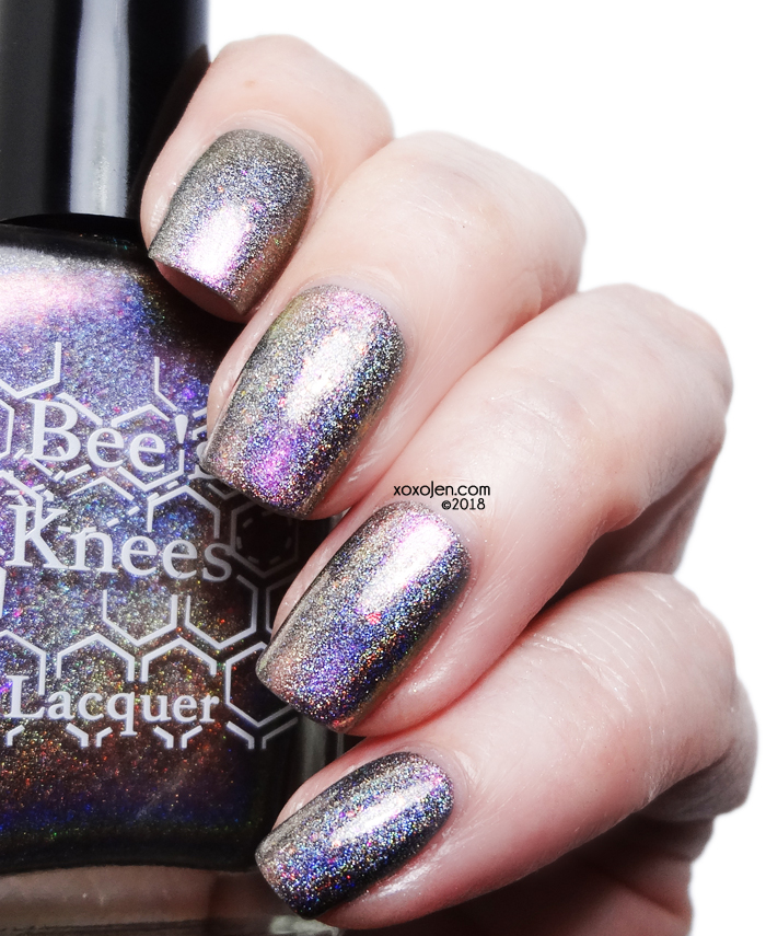 xoxoJen's swatch of Bee's Knees Lacquer Save Them All