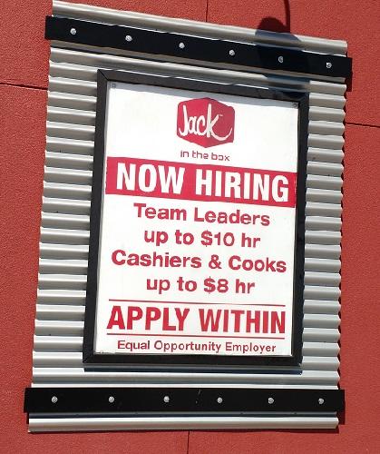 Fast Food Job Applications   Plano High School Jobs