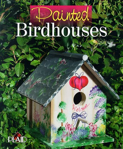 Painted Birdhouses by Plaid