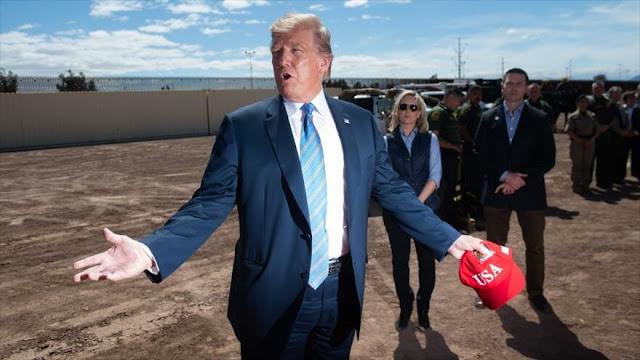Trump amenaza a México con multa por tráfico de drogas