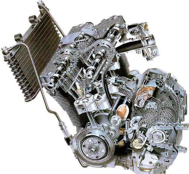 Suzuki SACS Engine Cutaway