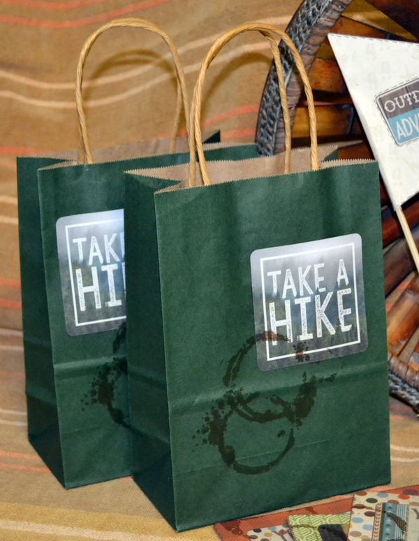 Party Bags by Denise van Deventer using the BoBunny Take a Hike Collection