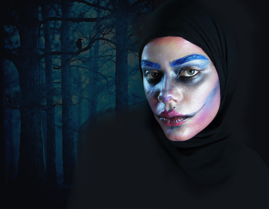 Painting in The Woods -  Makeup Art
