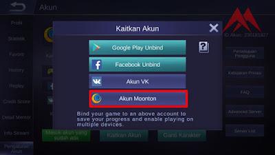 Cara Mudah Membuat Akun Moonton Pada Game Mobile Legends