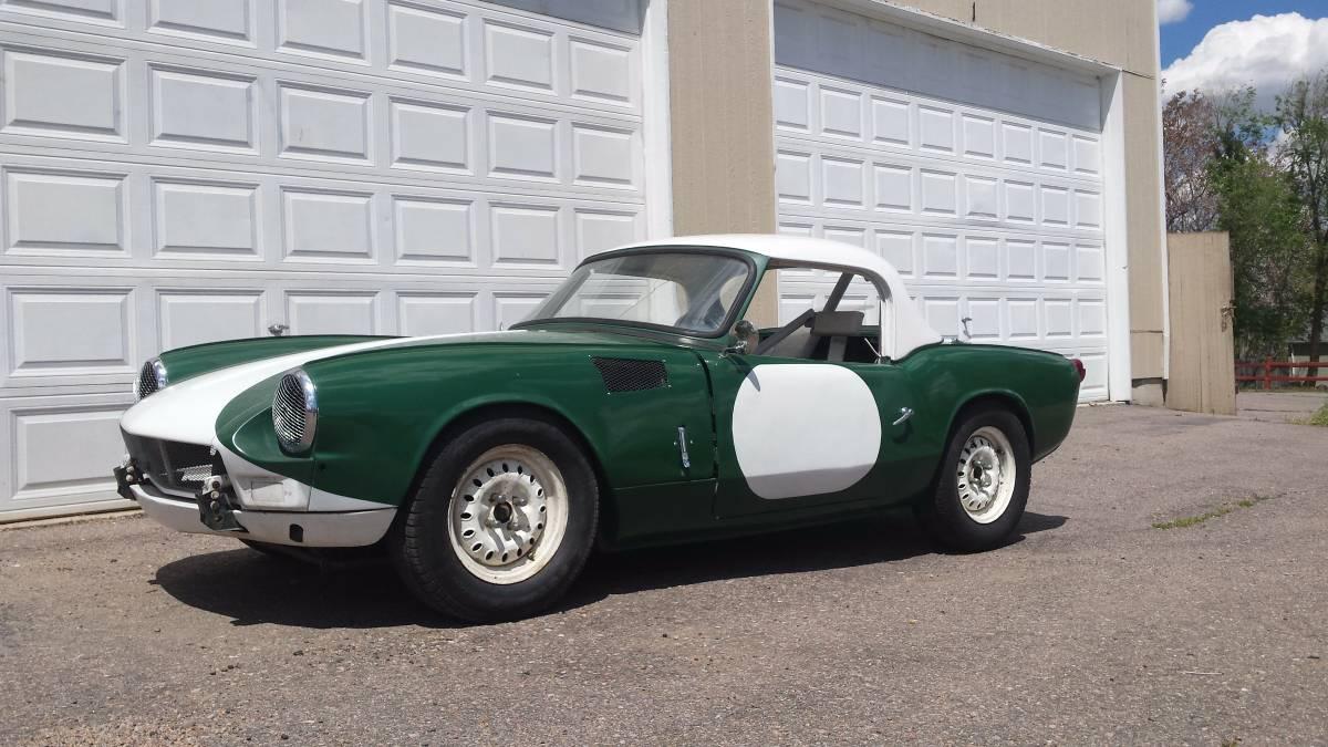Daily Turismo Racecar 1963 Triumph Spitfire