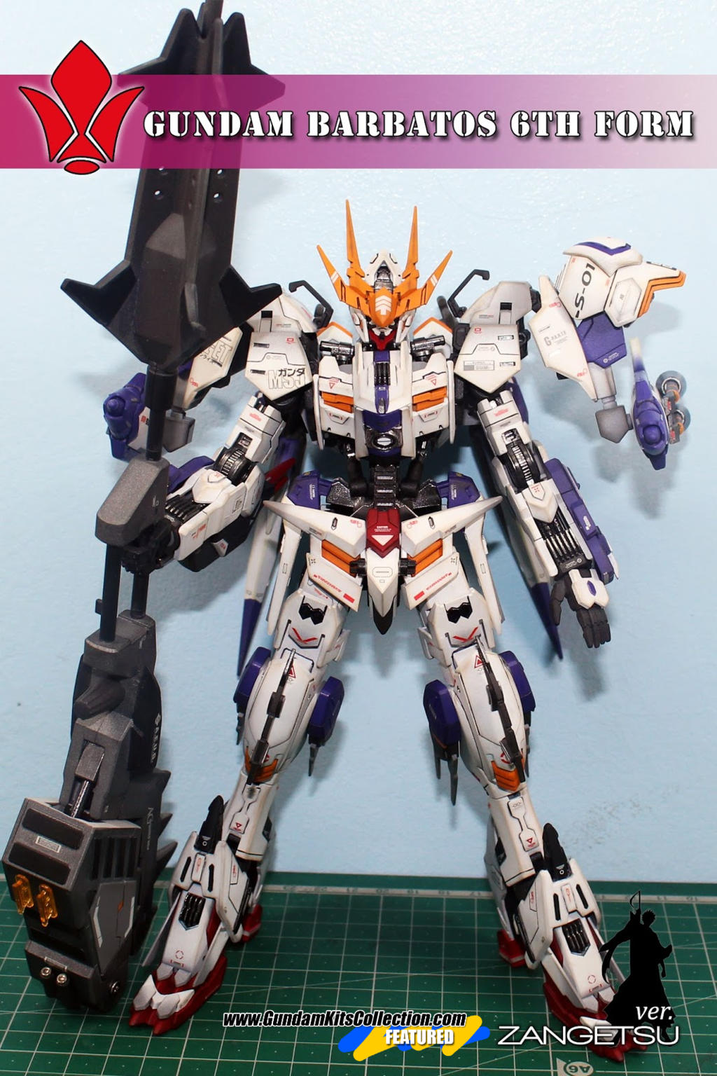 Custom Build: 1/100 Gundam Barbatos Form 6 [GBWC 2016 Philippines ...