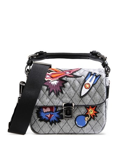 MSGM's Spaceship Applique Bag Brings Back Memories