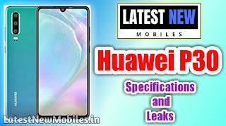 Huawei P30 price in India