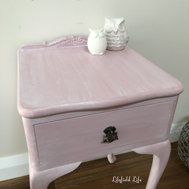vintage hand painted furniture by Lilyfield Life