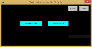 Shortcut Virus Remover v.2.0 | By Kvc