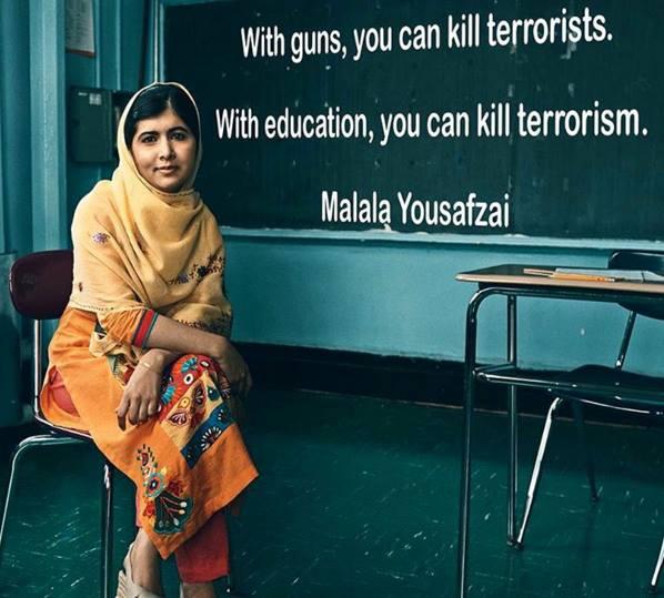 MALALA YOUSAFZAI, A PRESENT DAY TEEN HEROINE