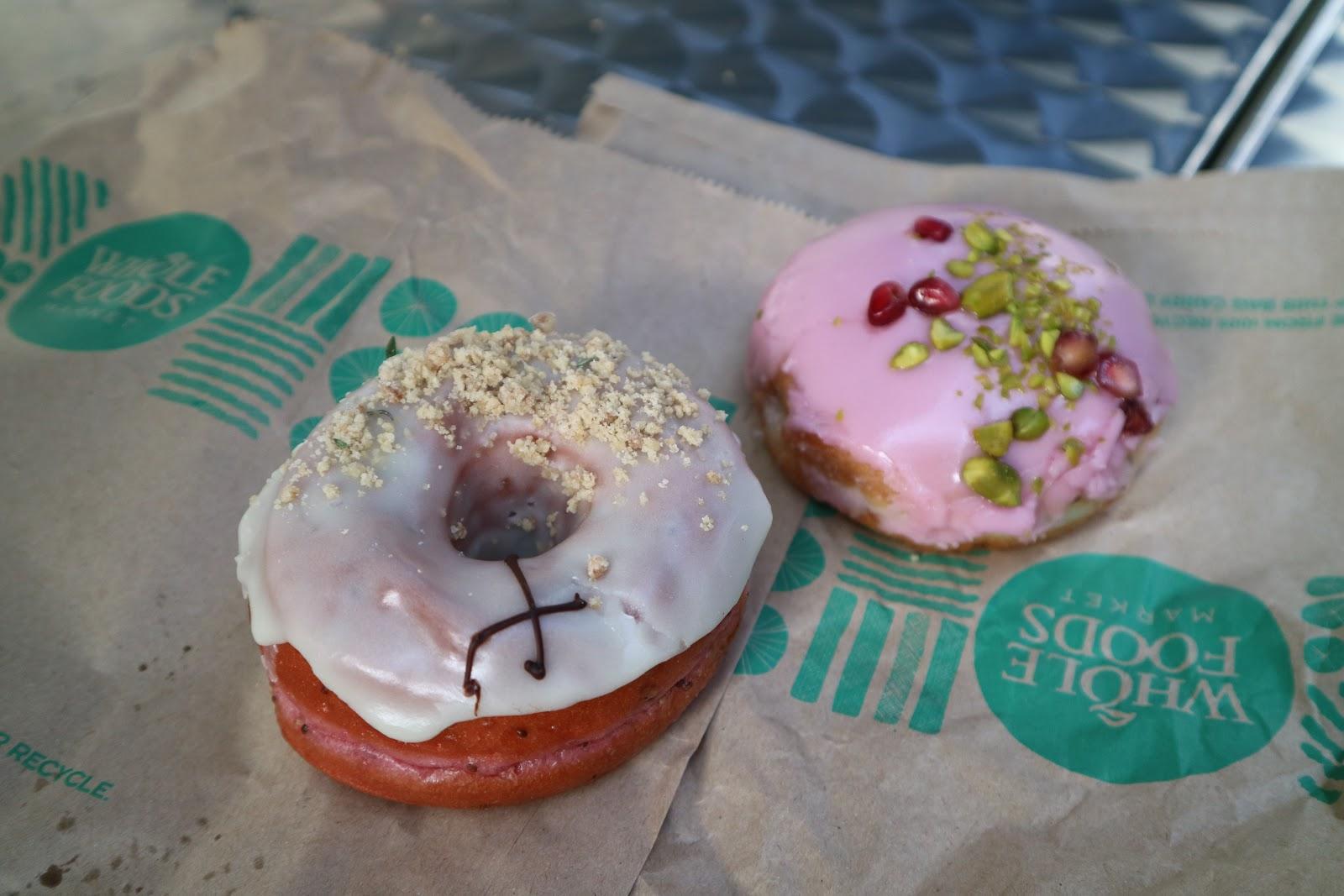 cross town doughnuts, veganism, vegan food,