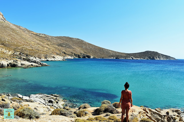 Kalo Ampeli, isla de Serifos (Grecia)