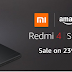 Just a Quick Update ! Redmi 4 Second Flash sale Just Got Better.| All you need to know about second flash sale of Redmi 4