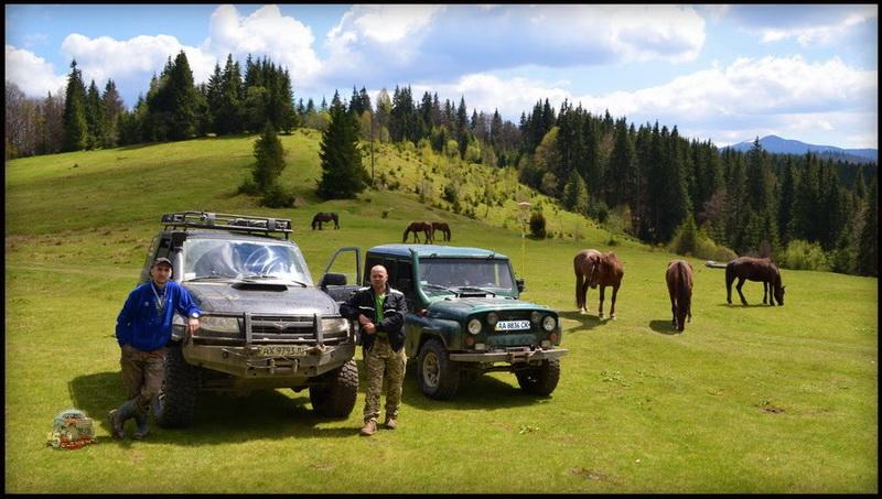 УАЗ Патриот и УАЗ 469