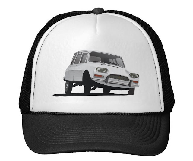 Citroen Ami hats caps