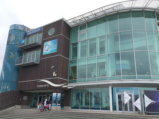 The National Marine Aquarium in Plymouth