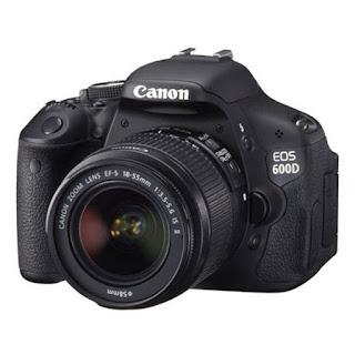 Spesifikasi Dan Harga Kamera Canon EOS 600D Terbaru 2016