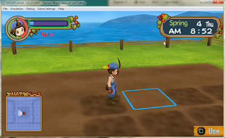 Cara Mencheat Stamina di Harvest Moon Hero Of Leaf Valley Psp