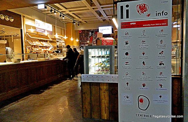 Comer em Roma – Mercado Central de Termini