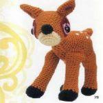 patron gratis ciervo amigurumi | free amigurumi pattern deer