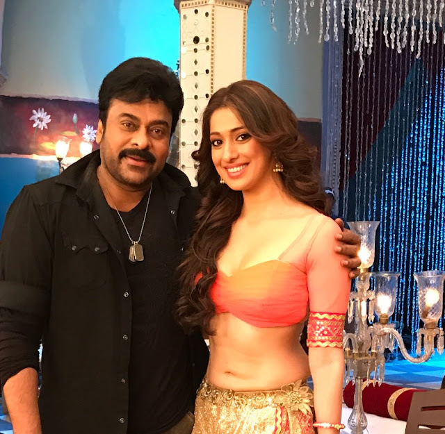 Chiranjeevi, Lakshmi Rai Stills in 'Khaidi No 150' Item Song