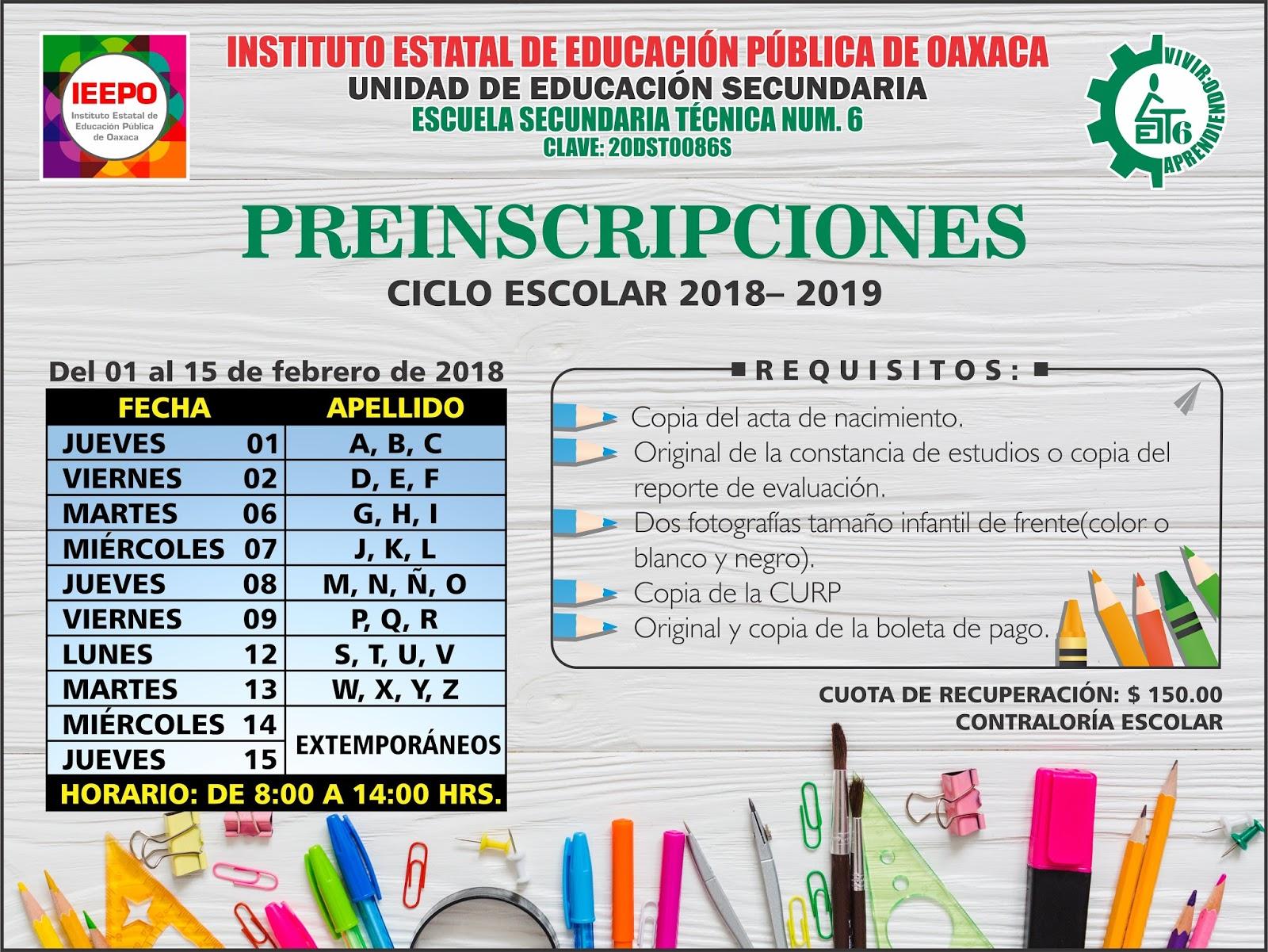 Escuela secundaria t cnica n m 6 for Cct de la escuela