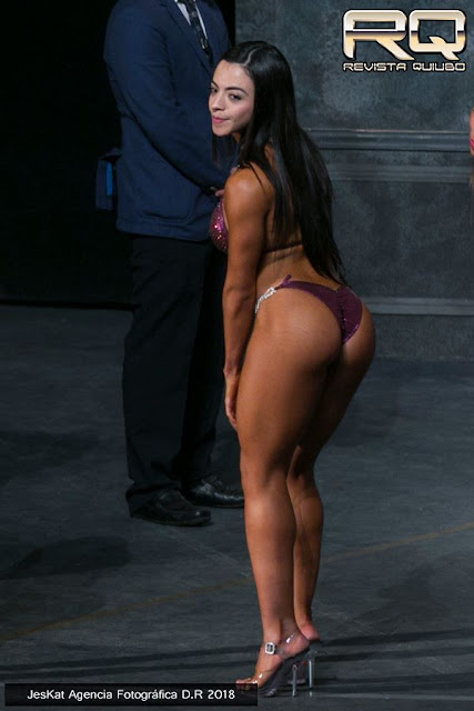 Daniela de la Torre 1er lugar para Puebla en Bikini Wellness hasta 1.60 m