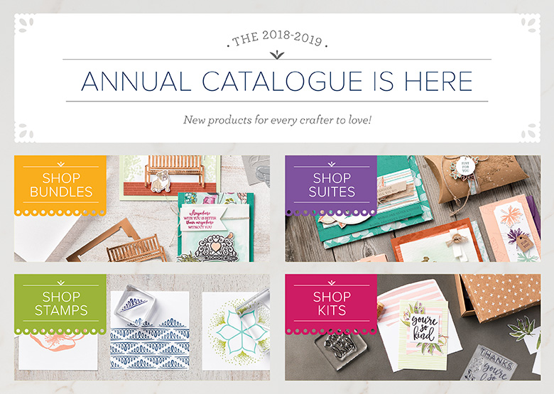Carole's Stamping and Papercrafts: 2018-2019 Stampin' Up! Annual