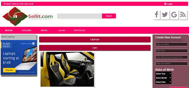 Responsive Website like OLX com in php - DesigningToCode