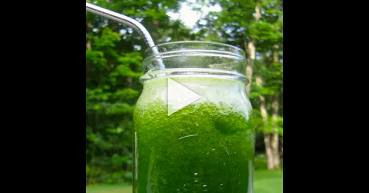 This green juice is an effective remedy for Migraine