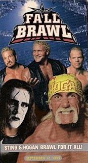 WCW Fall Brawl 1999 - Event poster