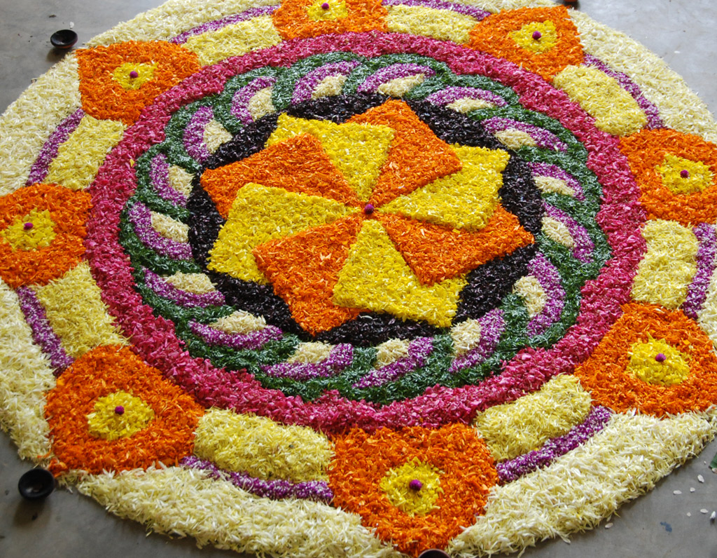 Simple Flower Carpet Designs