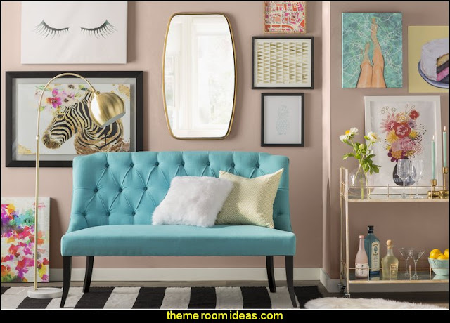 wall decorations - wall art prints - wall stencils - wall murals - wall decals - wall decor - Lighted Letters - wall letters - Storage wall shelves - Marquee Lights - picture frames - mirrors - decorative accents