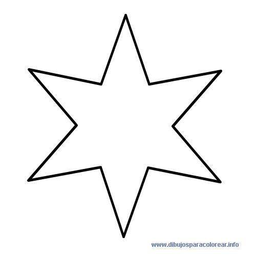 Modelo de estrella para imprimir Imagui