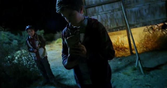 Scenă din filmul sci-fi Earth To Echo