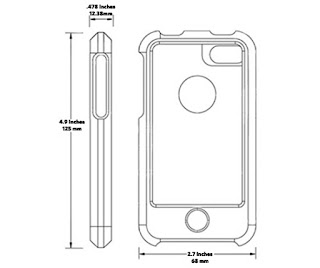 iPhone 4 Case Dimensions