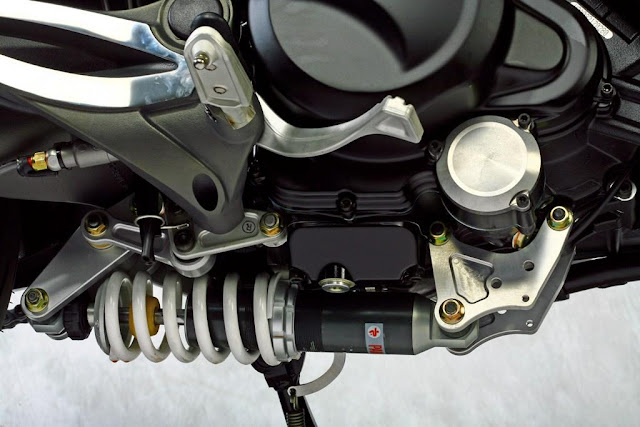 Voxan Rear Shock Suspension