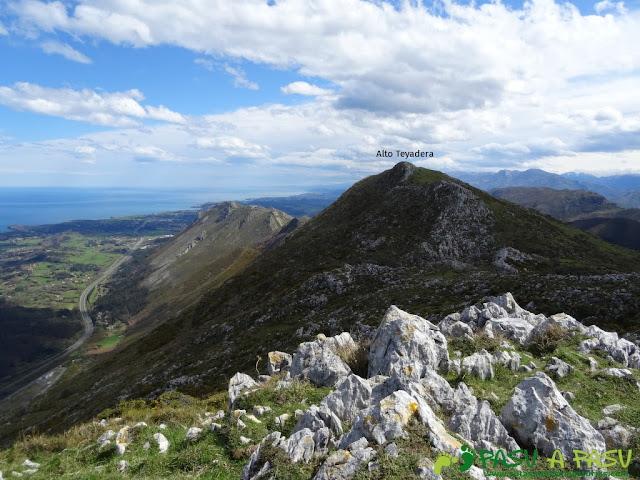 Sierra de la Cueva Negra: Desde el Jorovitaya o Peña el Taxista hacia el Alto Teyadera