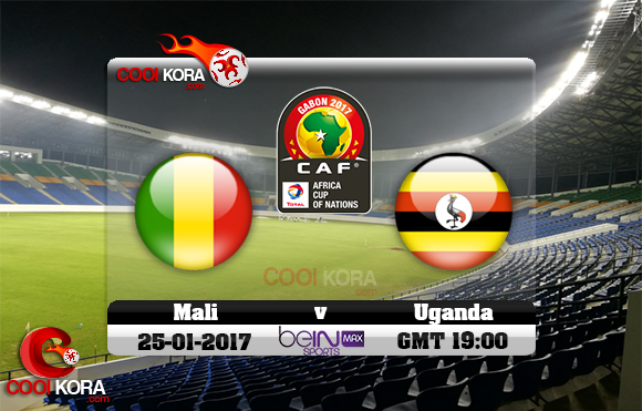 مشاهدة مباراة مالي وأوغندا اليوم كأس أمم أفريقيا 25-1-2017 علي بي أن ماكس