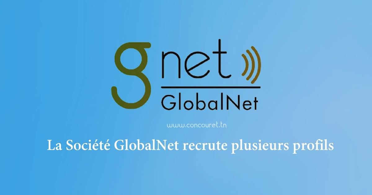 globalnet recrute plusieurs profils