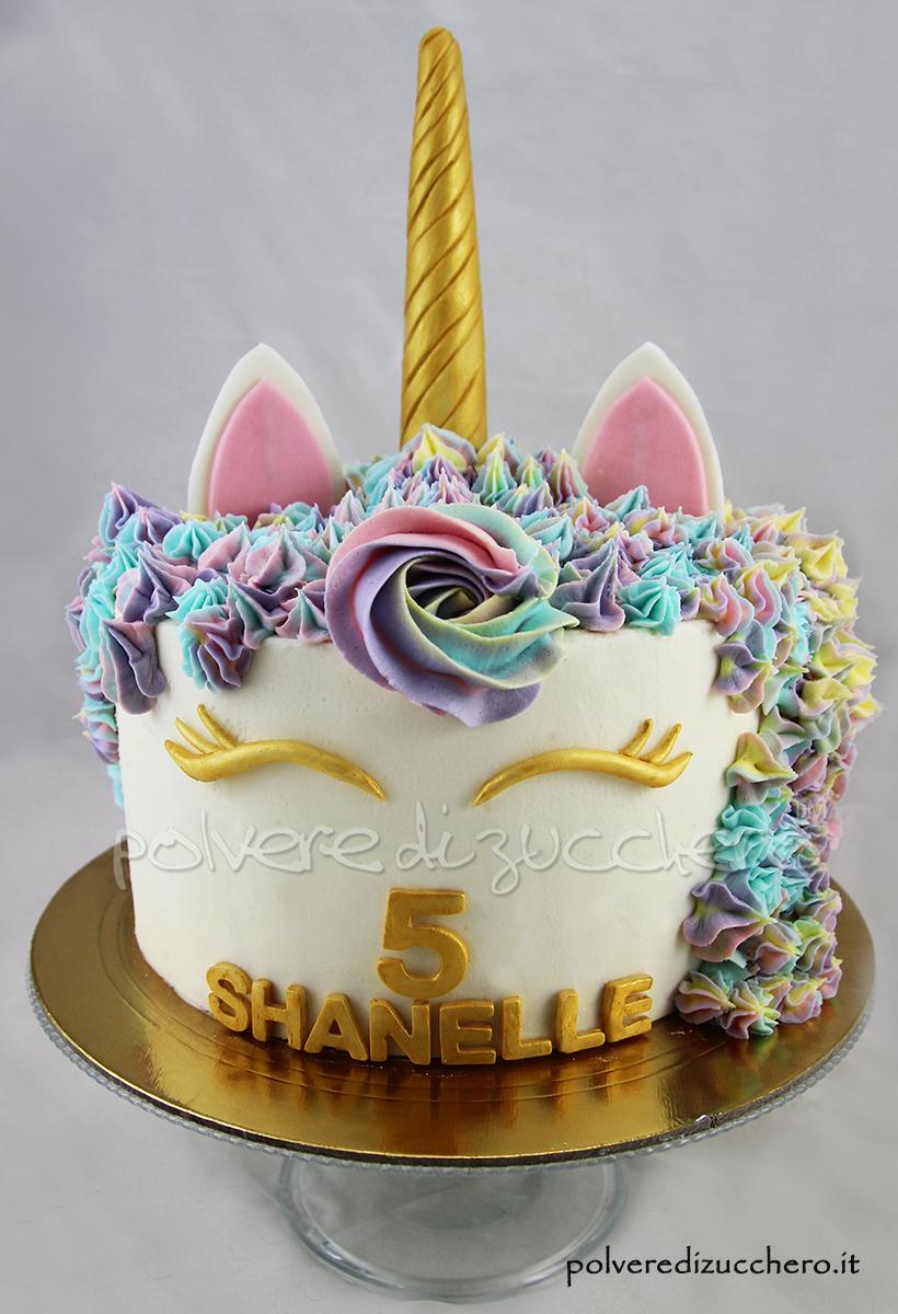 torta unicorno unicorn cake pasta di zucchero cake design cake decorating color polvere di zucchero pasta di zucchero crema al burro
