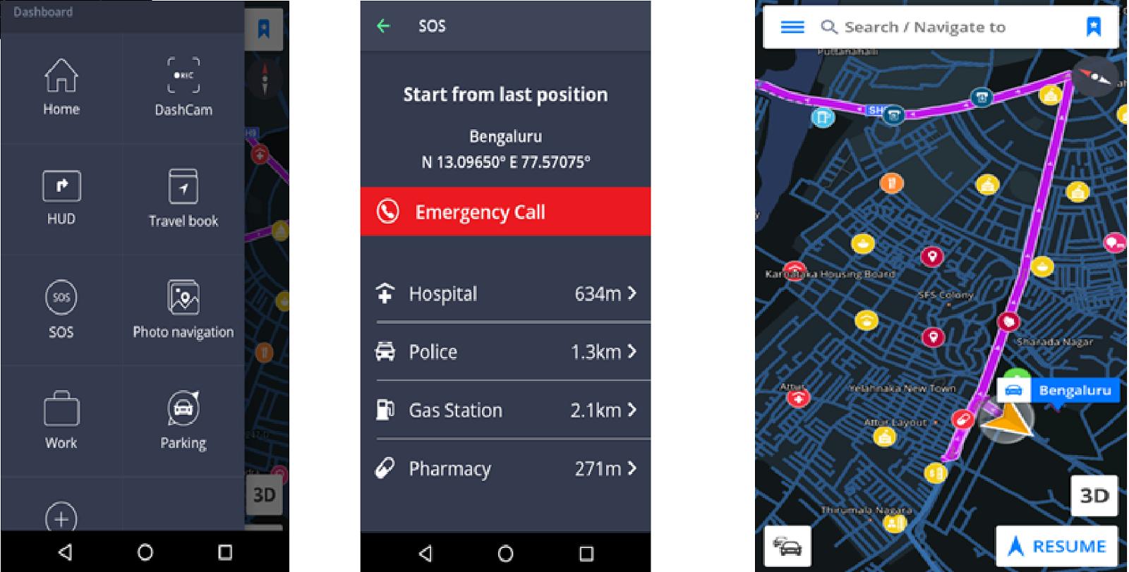 Sygic Maps : An Alternative to Data Dependent Navigators