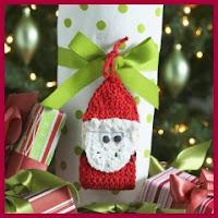 Santa a crochet