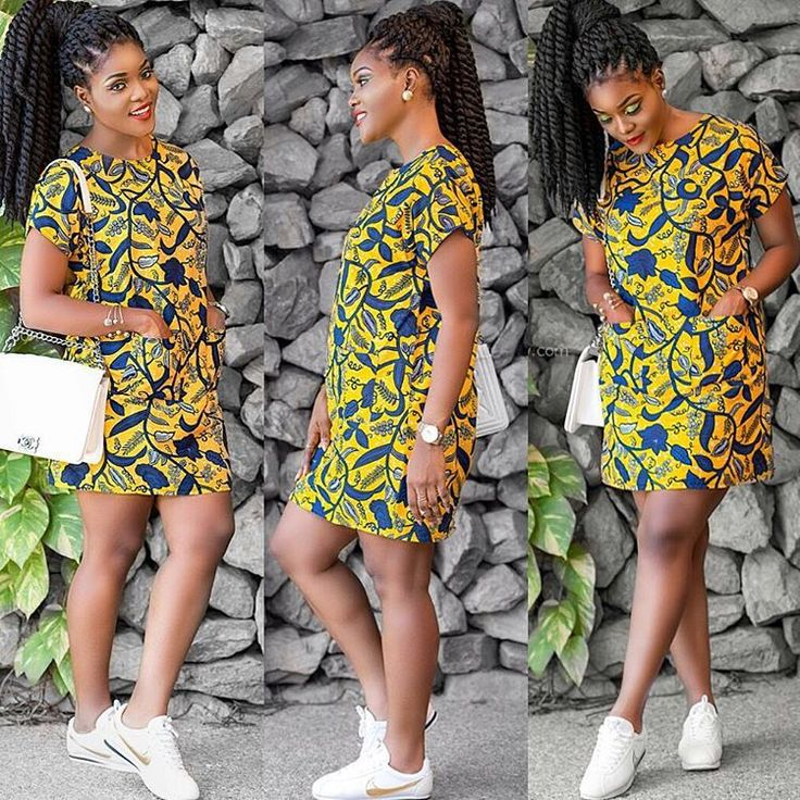 Beautiful And Simple Short Gown Ankara Styles - Debonke House Of Fashion